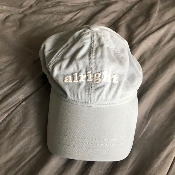 """d5508d1df0886 American Eagle Outfitters Accessories - American Eagle """"alright alright  alright"""" Dad Hat"""